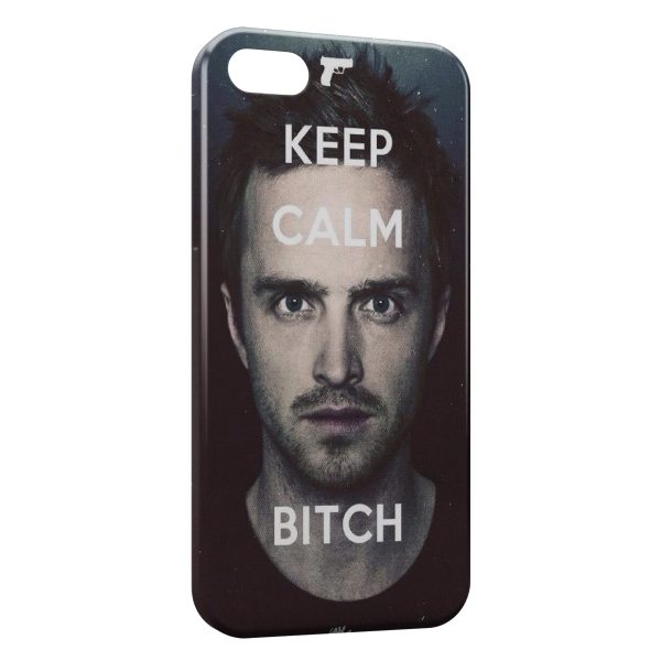 Coque iPhone 5/5S/SE Breaking Bad Keep Calm Bitch