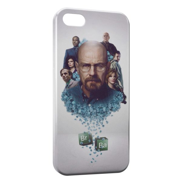 Coque iPhone 5/5S/SE Breaking Bad Walter White Heisenberg 7
