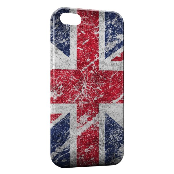Coque iPhone 5/5S/SE British Drapeau Anglais