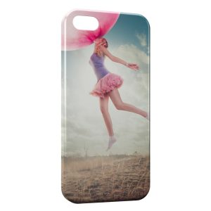 Coque iPhone 5/5S/SE Bubble Gum & Girl