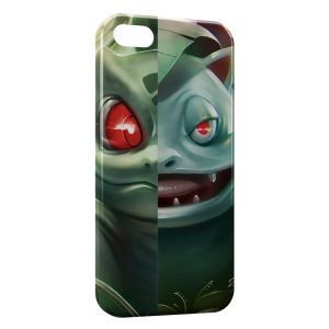 Coque iPhone 5/5S/SE Bulbizarre Florizarre Pokemon Art