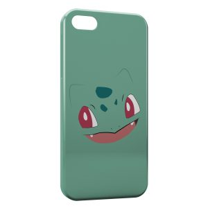 Coque iPhone 5/5S/SE Bulbizarre Simple Art Pokemon 2