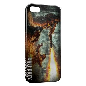 Coque iPhone 5/5S/SE Call Of Duty World At War