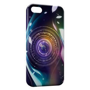 Coque iPhone 5/5S/SE Camera Style Design
