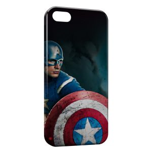 Coque iPhone 5/5S/SE Captain America 4