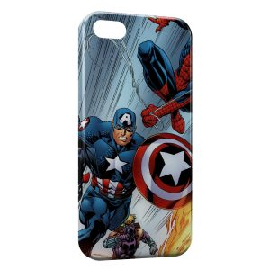 Coque iPhone 5/5S/SE Captain America 5