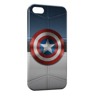 Coque iPhone 5/5S/SE Captain America Bouclier Avenger