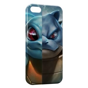 Coque iPhone 5/5S/SE Carapuce Tortank Pokemon Art