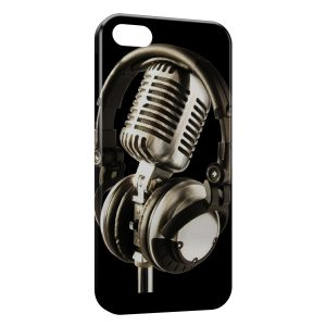 Coque iPhone 5/5S/SE Casque & Mic