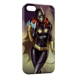 Coque iPhone 5/5S/SE Catwoman Art