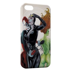 Coque iPhone 5/5S/SE Catwoman & Joker Girl