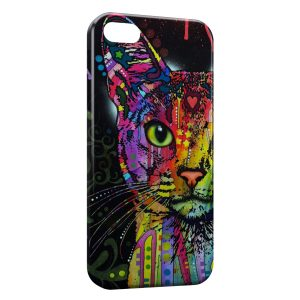 Coque iPhone 5/5S/SE Chat Colorize