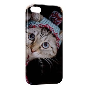 Coque iPhone 5/5S/SE Chat Mignon 4