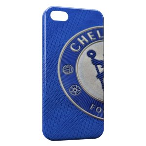 Coque iPhone 5/5S/SE Chelsea FC Blue Logo Football