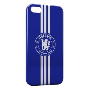 Coque iPhone 5/5S/SE Chelsea FC Football Blue Lines