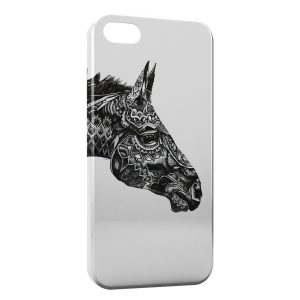 Coque iPhone 5/5S/SE Cheval Design