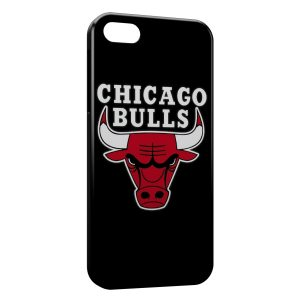 Coque iPhone 5/5S/SE Chicago Bulls Basketball 2