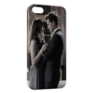 Coque iPhone 5/5S/SE Christian Grey Anastasia 50 Nuances de Grey