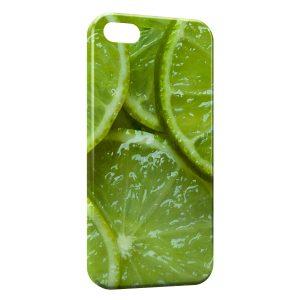 Coque iPhone 5/5S/SE Citrons Vert