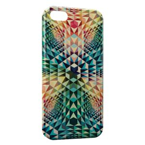 Coque iPhone 5/5S/SE Colorful Design Style 2