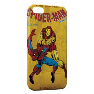 Coque iPhone 5/5S/SE Comics Spiderman 3
