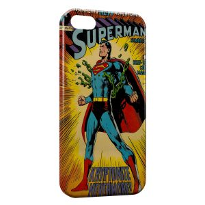 Coque iPhone 5/5S/SE Comics Superman