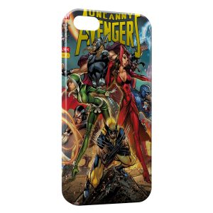 Coque iPhone 5/5S/SE Comics The Advengers Wolverine