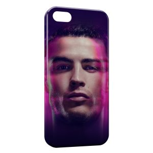 Coque iPhone 5/5S/SE Cristiano Ronaldo Football 2