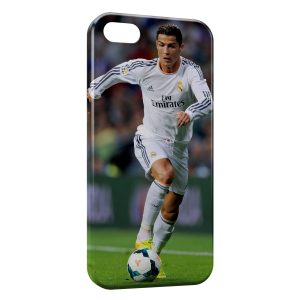 Coque iPhone 5/5S/SE Cristiano Ronaldo Football 22