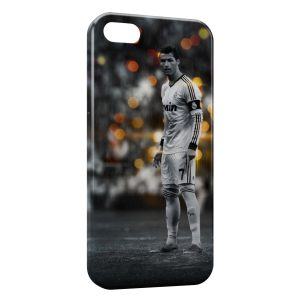 Coque iPhone 5/5S/SE Cristiano Ronaldo Football 23