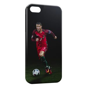Coque iPhone 5/5S/SE Cristiano Ronaldo Football 26