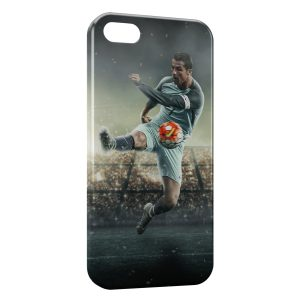Coque iPhone 5/5S/SE Cristiano Ronaldo Football 27