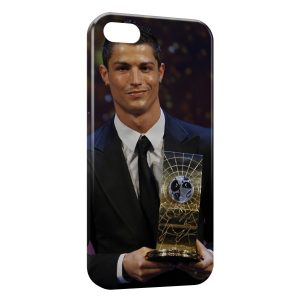 Coque iPhone 5/5S/SE Cristiano Ronaldo Football 28