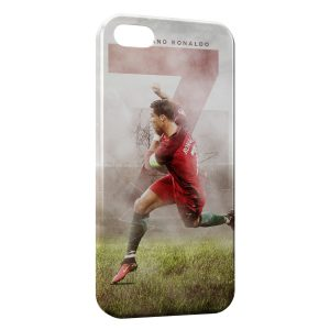 Coque iPhone 5/5S/SE Cristiano Ronaldo Football 29
