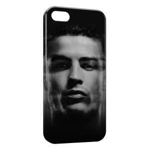 Coque iPhone 5/5S/SE Cristiano Ronaldo Football 3