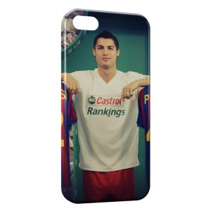 Coque iPhone 5/5S/SE Cristiano Ronaldo Football 32