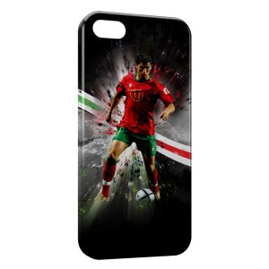 Coque iPhone 5/5S/SE Cristiano Ronaldo Football 34