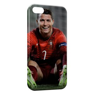 Coque iPhone 5/5S/SE Cristiano Ronaldo Football 36
