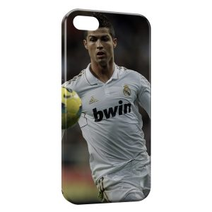 Coque iPhone 5/5S/SE Cristiano Ronaldo Football 37