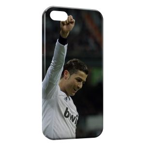 Coque iPhone 5/5S/SE Cristiano Ronaldo Football 38