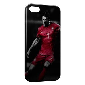Coque iPhone 5/5S/SE Cristiano Ronaldo Football 39