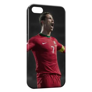 Coque iPhone 5/5S/SE Cristiano Ronaldo Football 4