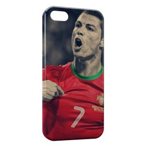 Coque iPhone 5/5S/SE Cristiano Ronaldo Football 40