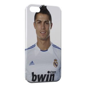 Coque iPhone 5/5S/SE Cristiano Ronaldo Football 41