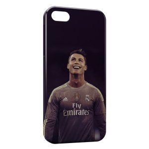 Coque iPhone 5/5S/SE Cristiano Ronaldo Football 45