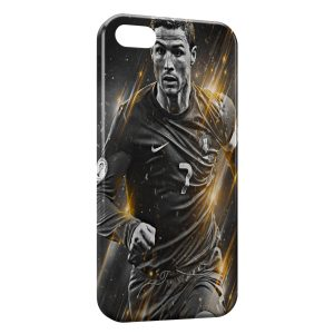 Coque iPhone 5/5S/SE Cristiano Ronaldo Football 47