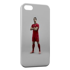 Coque iPhone 5/5S/SE Cristiano Ronaldo Football 48