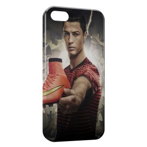 Coque iPhone 5/5S/SE Cristiano Ronaldo Football 50