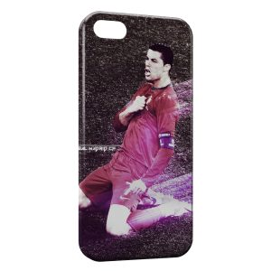 Coque iPhone 5/5S/SE Cristiano Ronaldo Football 51