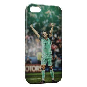 Coque iPhone 5/5S/SE Cristiano Ronaldo Football 52